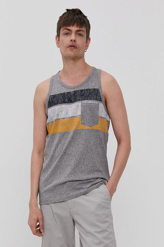 szary Produkt by Jack & Jones - T-shirt Męski