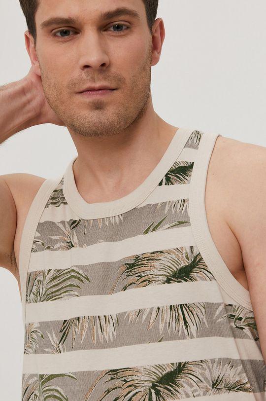 kremowy Produkt by Jack & Jones - T-shirt