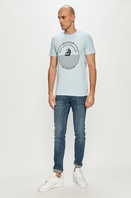 Produkt by Jack & Jones - Tricou albastru