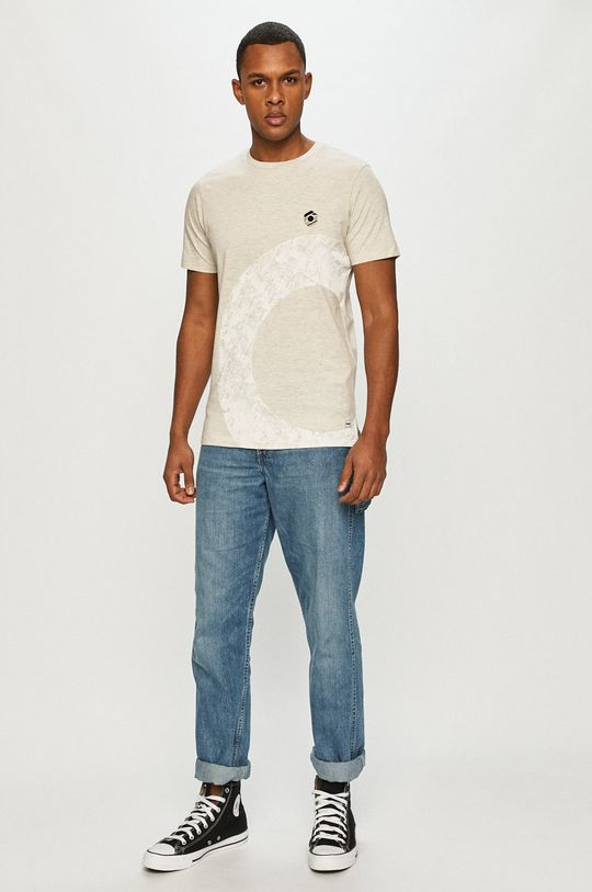 Produkt by Jack & Jones - Tričko krémová