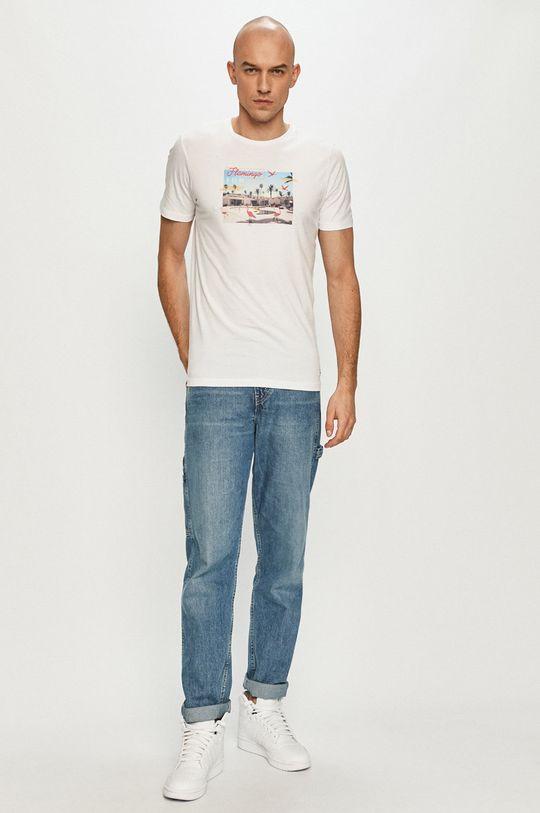 Produkt by Jack & Jones - Tričko biela