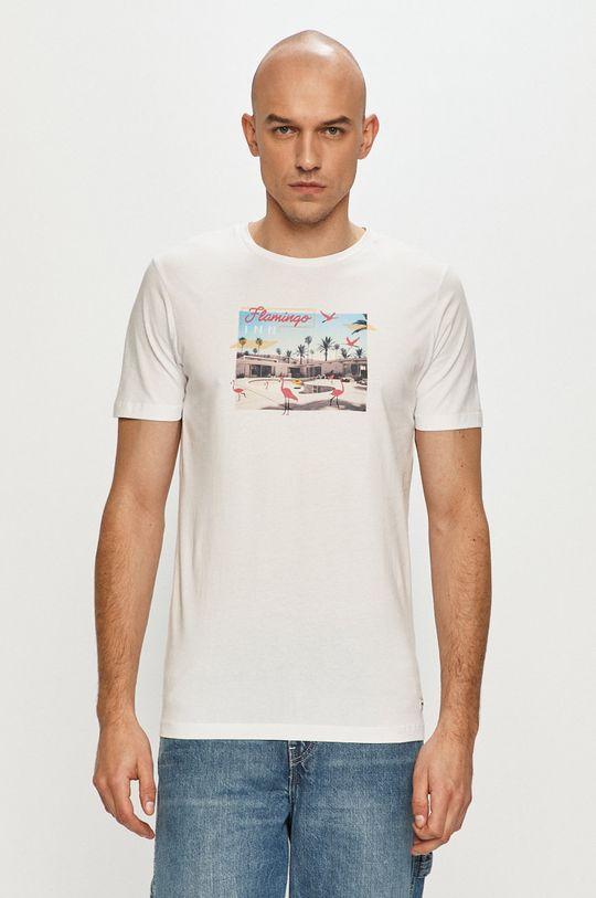 biela Produkt by Jack & Jones - Tričko