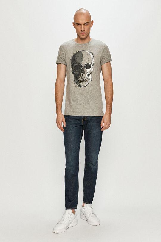 Produkt by Jack & Jones - Tričko světle šedá