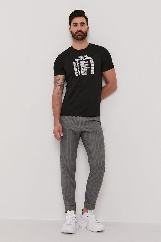 Diesel - T-shirt czarny