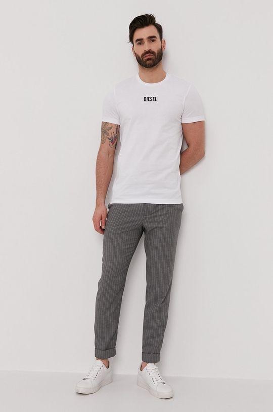 Diesel - T-shirt biały