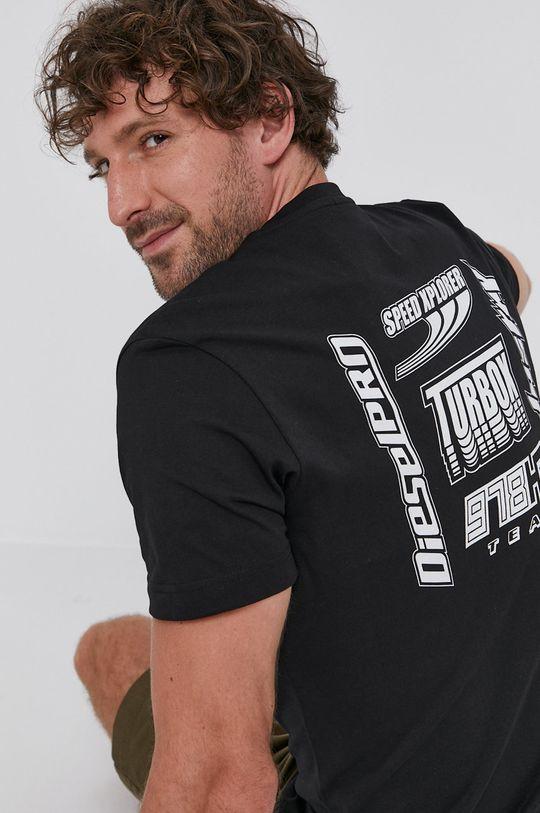 čierna Diesel - Tričko Pánsky