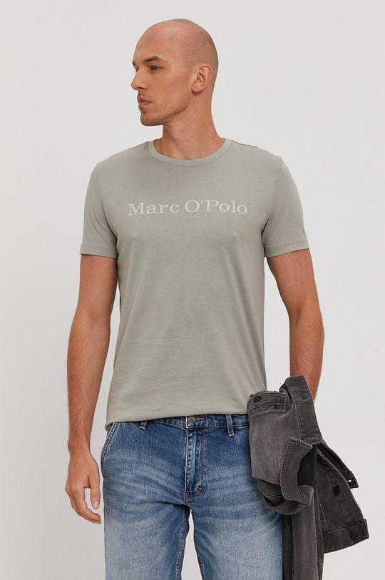 jasny oliwkowy Marc O'Polo - T-shirt Męski