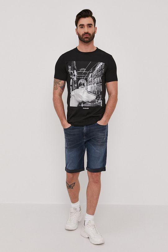 Trussardi - T-shirt czarny