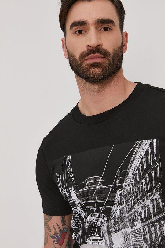 czarny Trussardi - T-shirt