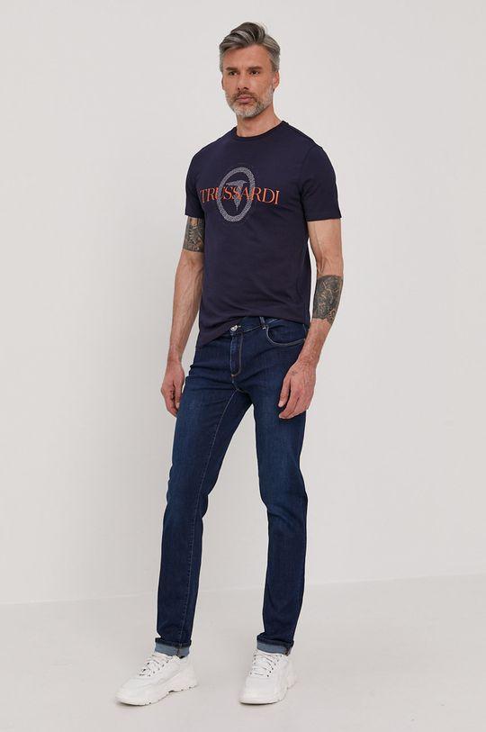 Trussardi Jeans - Tričko tmavomodrá