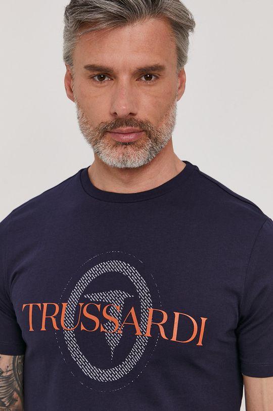tmavomodrá Trussardi Jeans - Tričko