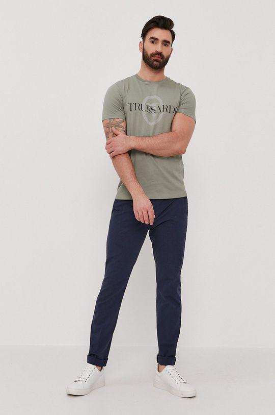Trussardi Jeans - Tričko tyrkysová