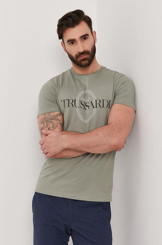 tyrkysová Trussardi Jeans - Tričko