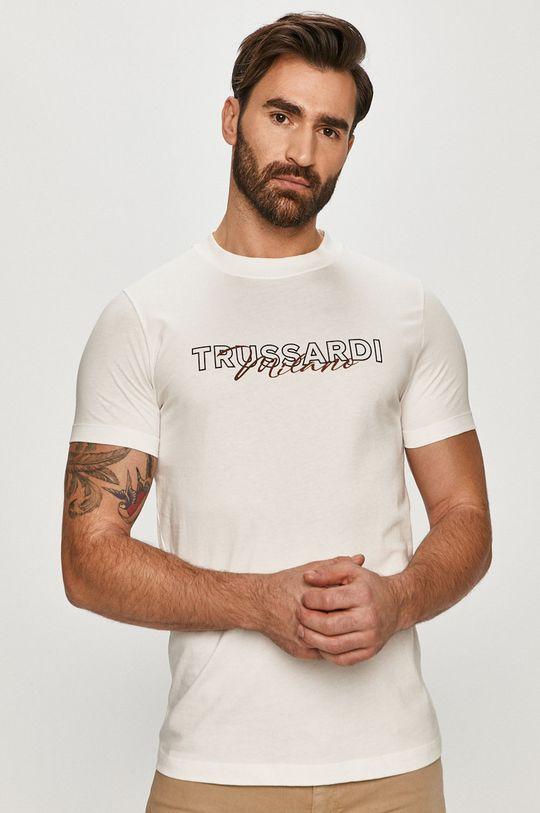biela Trussardi Jeans - Tričko Pánsky