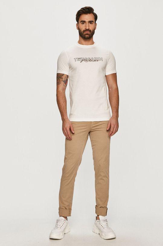 Trussardi Jeans - Tričko biela