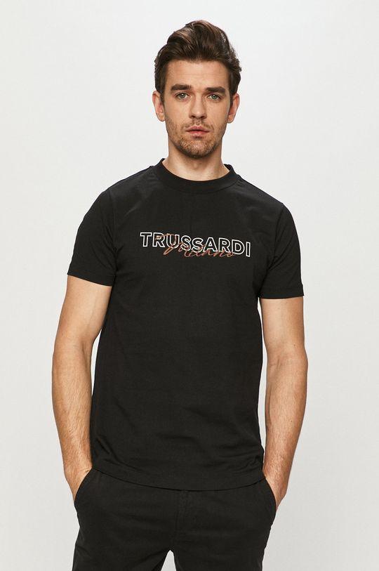 černá Trussardi Jeans - Tričko