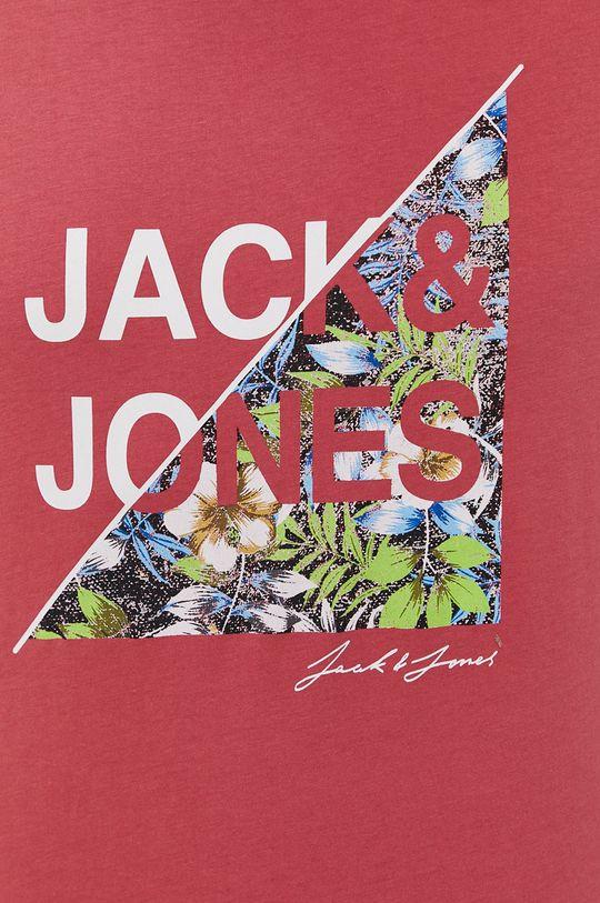 fiołkowo różowy Jack & Jones - T-shirt