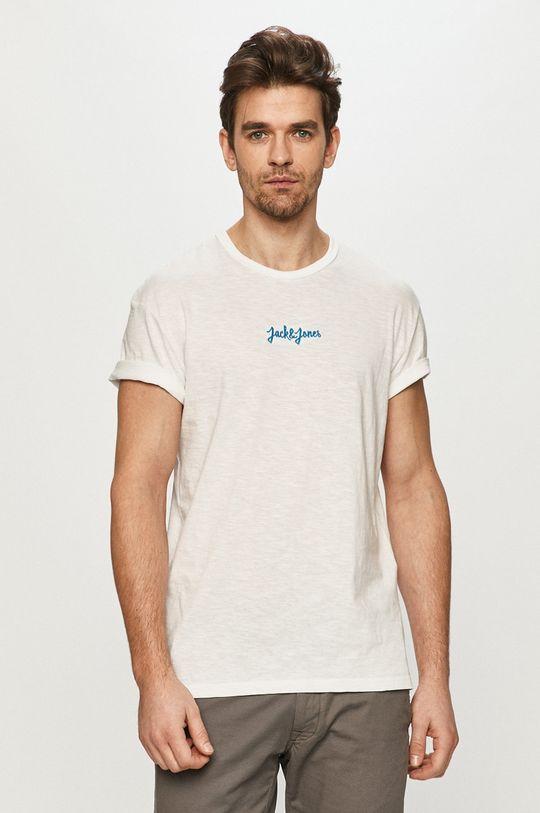alb Jack & Jones - Tricou De bărbați