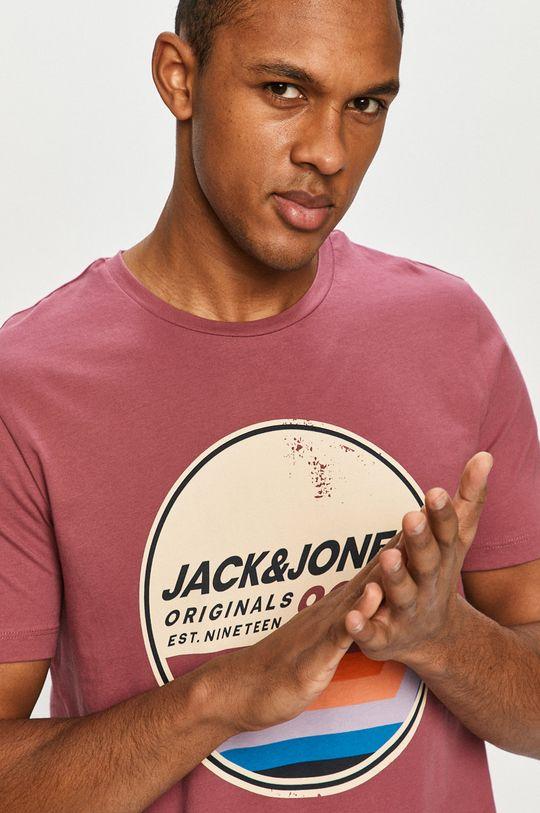 roz violet Jack & Jones - Tricou De bărbați