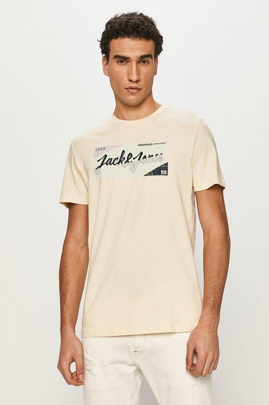 cielisty Jack & Jones - T-shirt Męski