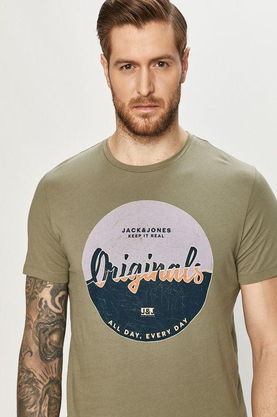 zielony Jack & Jones - T-shirt