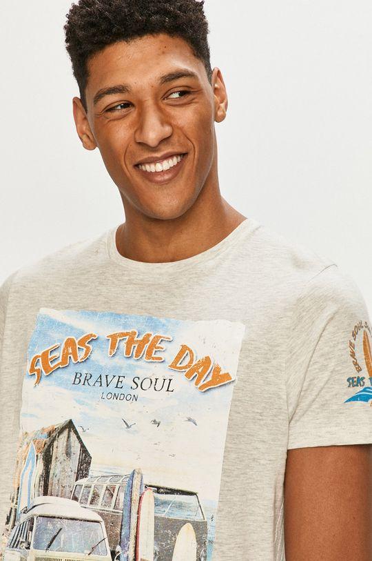 šedá Brave Soul - Tričko