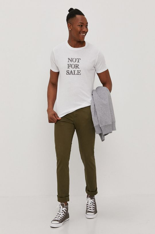 Brave Soul - T-shirt biały