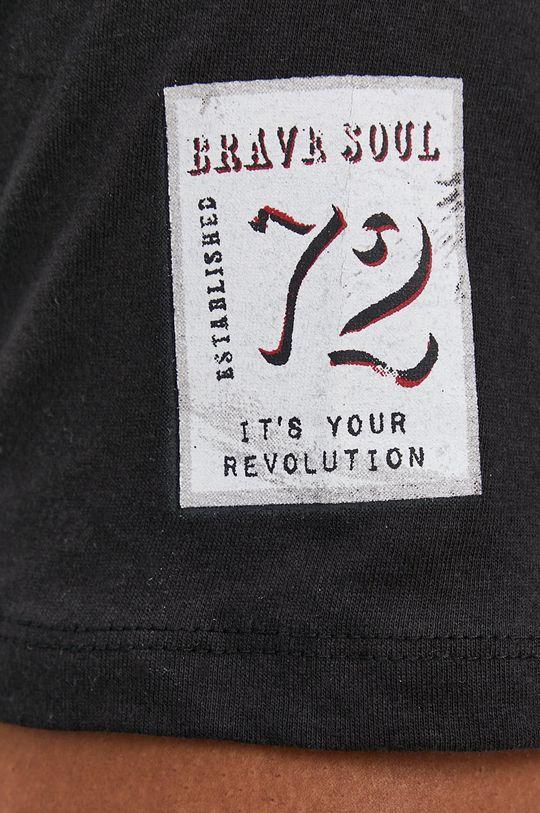 negru Brave Soul - Tricou