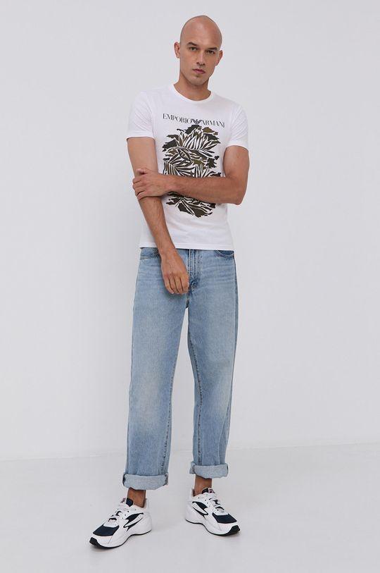 Emporio Armani - Tričko bílá