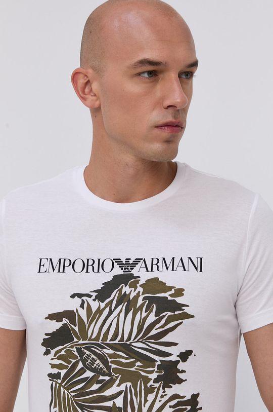 bílá Emporio Armani - Tričko