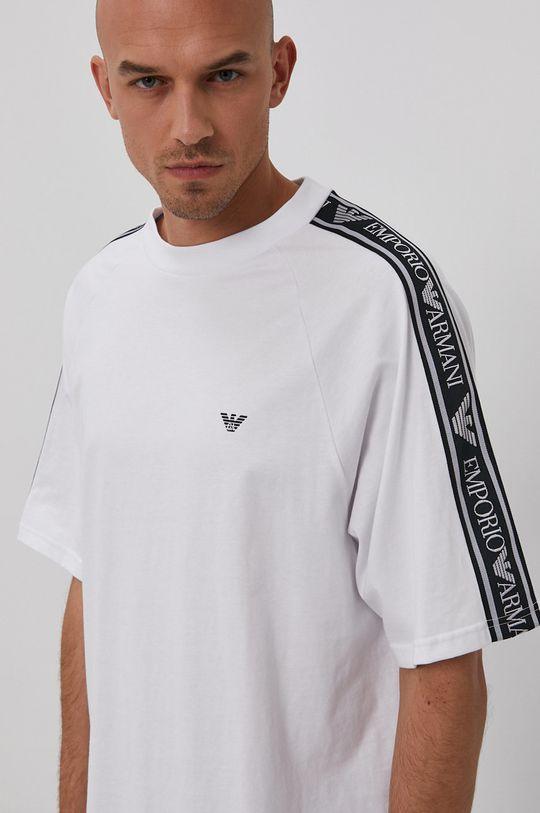 biela Emporio Armani - Tričko Pánsky