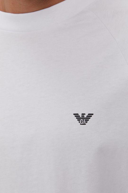 biela Emporio Armani - Tričko