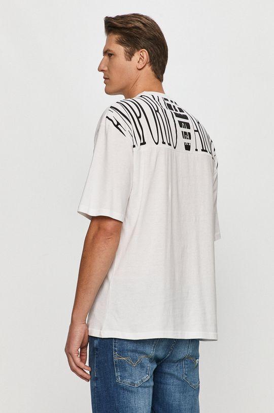 biały Emporio Armani - T-shirt