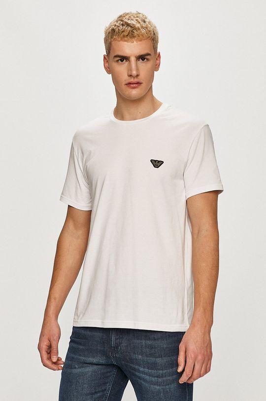 bílá Emporio Armani - Tričko Pánský