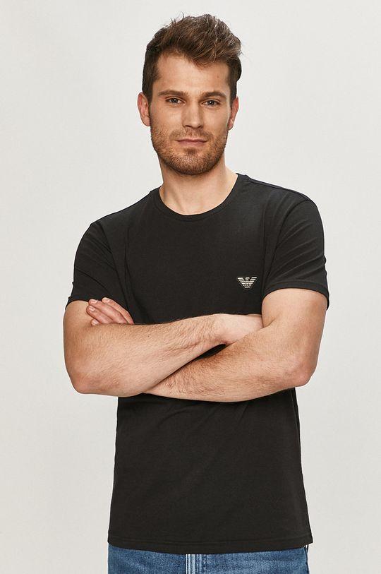 negru Emporio Armani - Tricou De bărbați