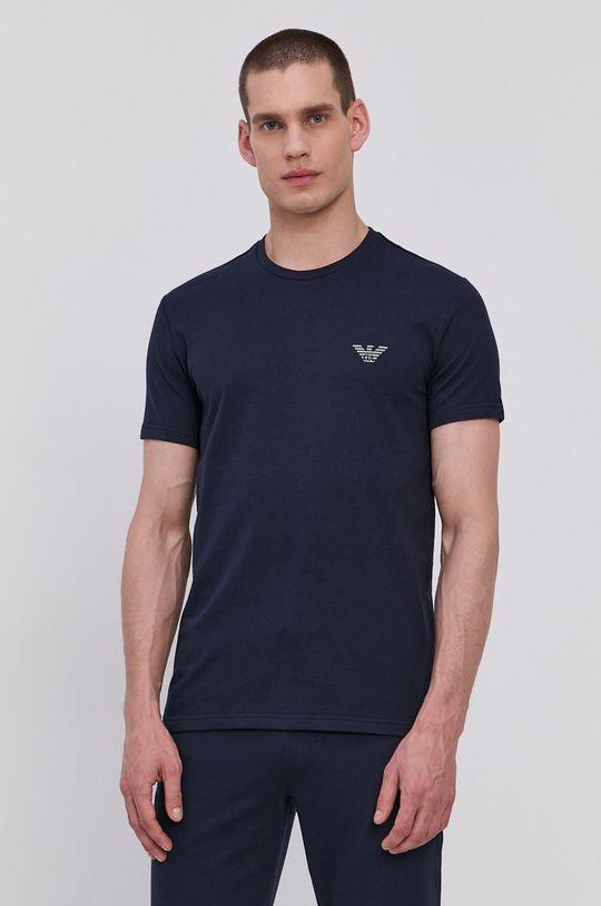 námořnická modř Emporio Armani - Pyžamové tričko