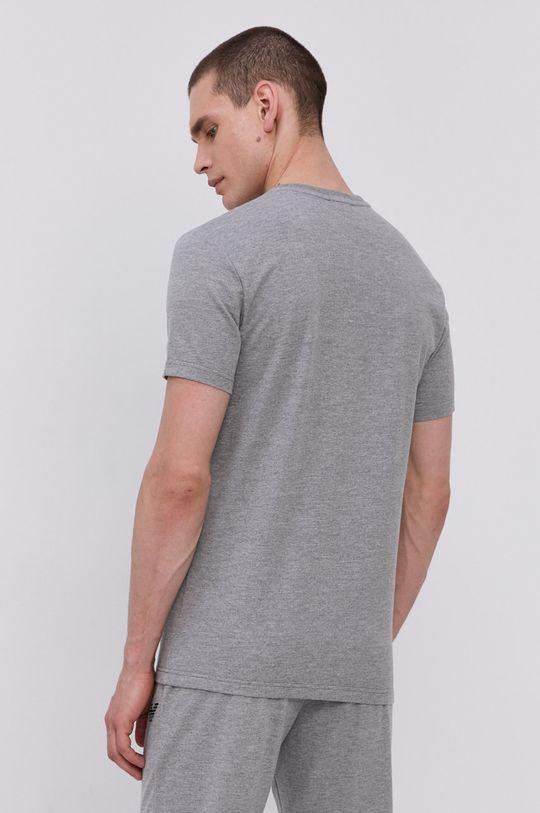 Emporio Armani - Pyžamové tričko  Materiál č. 1: 60% Bavlna, 40% Polyester Materiál č. 2: 57% Bavlna, 5% Elastan, 38% Polyester