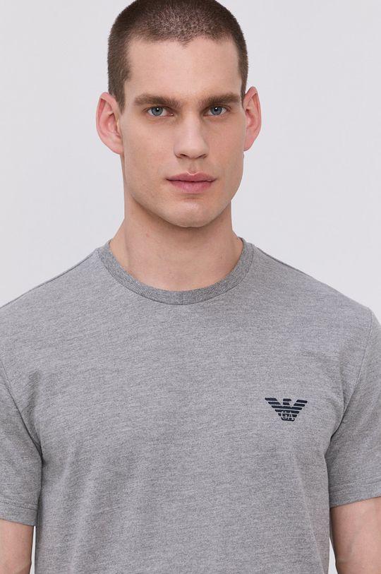 šedá Emporio Armani - Pyžamové tričko