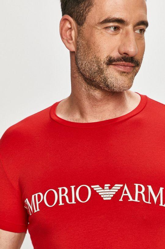 červená Emporio Armani - Tričko Pánský
