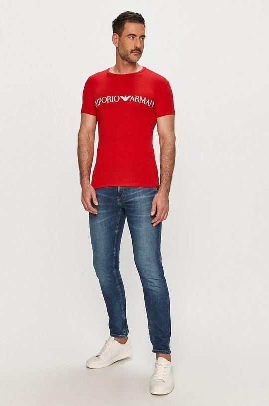 Emporio Armani - Tričko červená