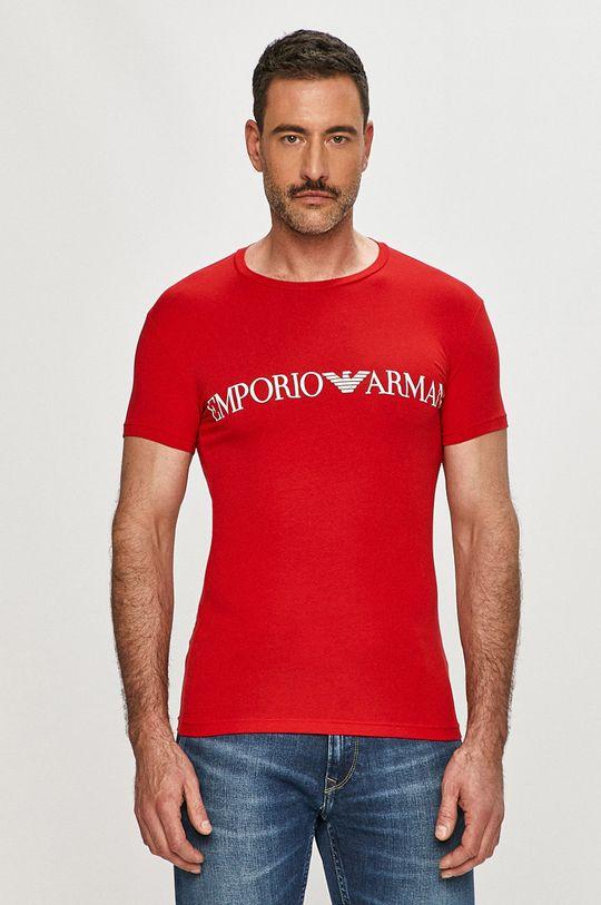 červená Emporio Armani - Tričko
