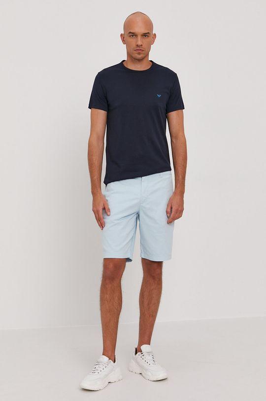 Emporio Armani - Tričko (2-pack) námořnická modř