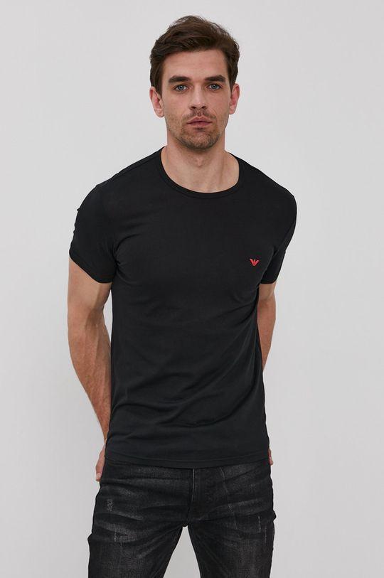 Emporio Armani - Футболка (2-pack) чорний