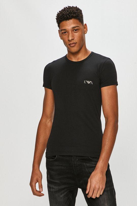 čierna Emporio Armani - Tričko (2-pak)