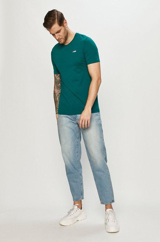 Fila - T-shirt zielony