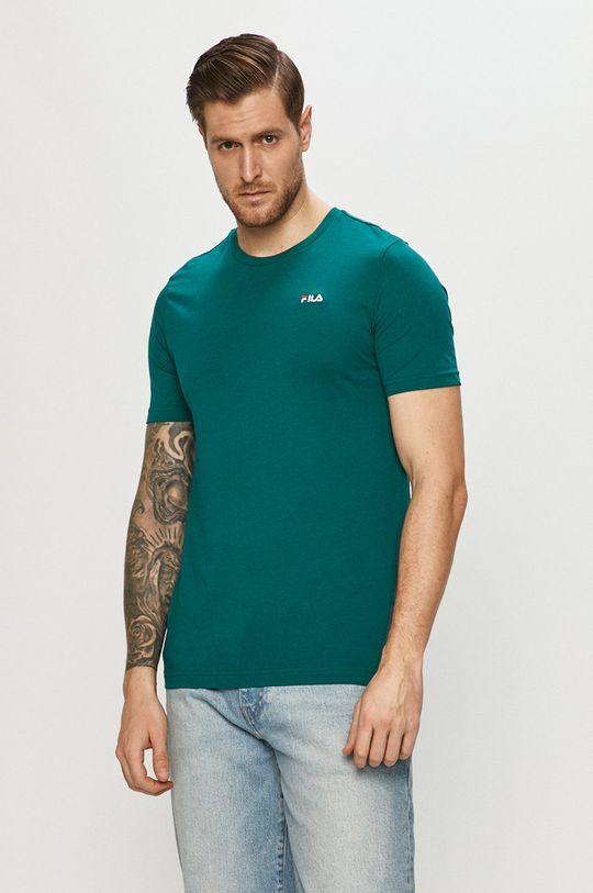 zielony Fila - T-shirt