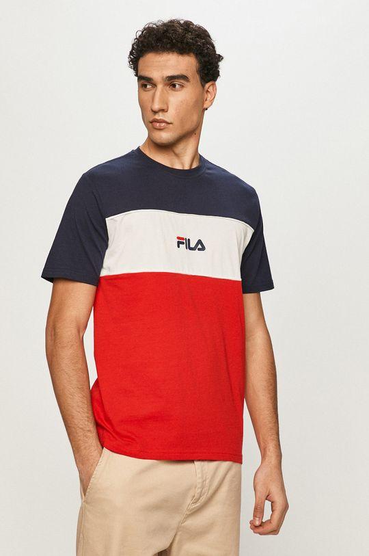 czerwony Fila - T-shirt