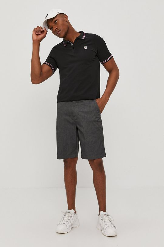 Fila - Polo czarny