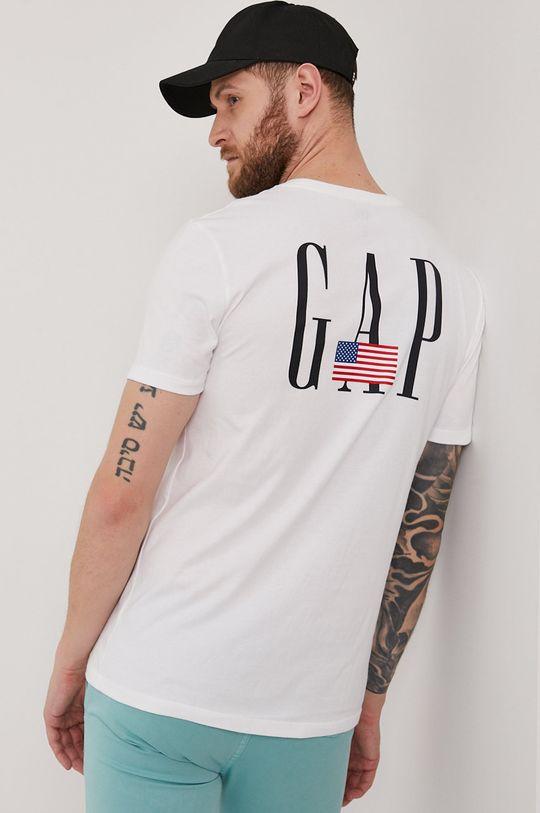 biela GAP - Tričko Pánsky