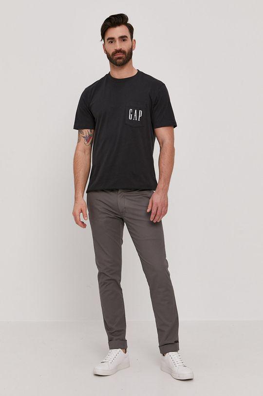 GAP - T-shirt czarny
